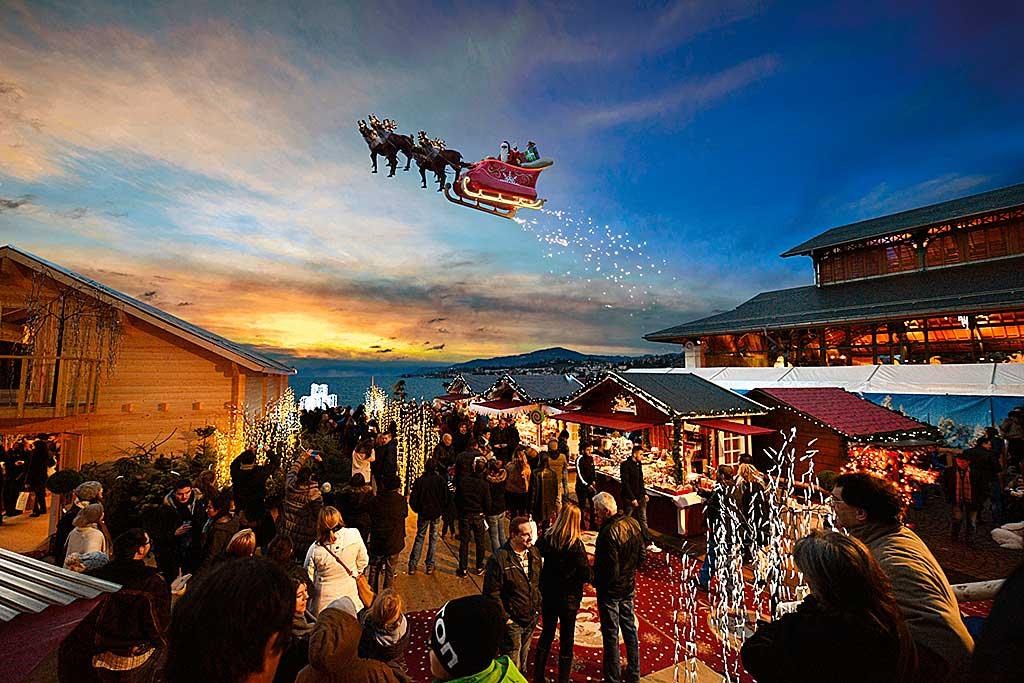 Mercati di Natale a Montreux