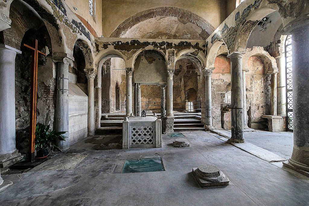 Basiliche Paleocristiane, Cimitile (NA), Campania, Italia
