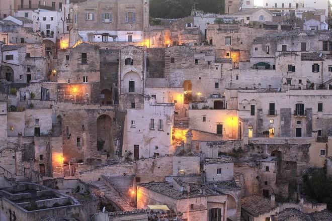 Sasso Barisano, Matera, Basilicata, Italia, Europa