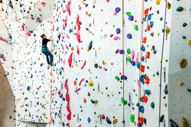Nuova palestra per l'arrampicata