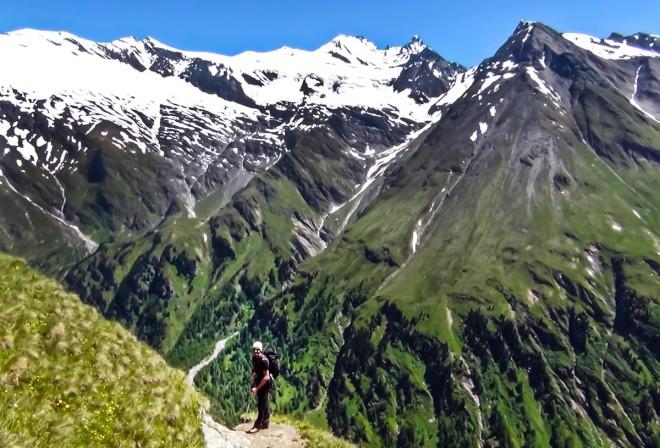 027-Sentiero delle Aquile-verso Kalser Tauernhaus Hutte-guida alpina Toni di Kals