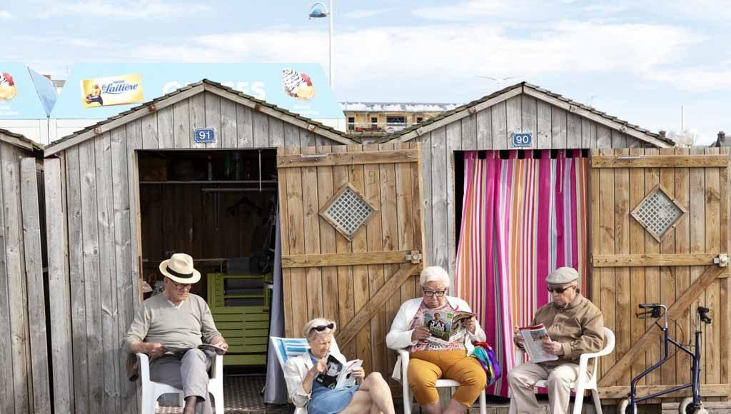 """Massimo Della Latta, """"Holidays in Normandy"""""""