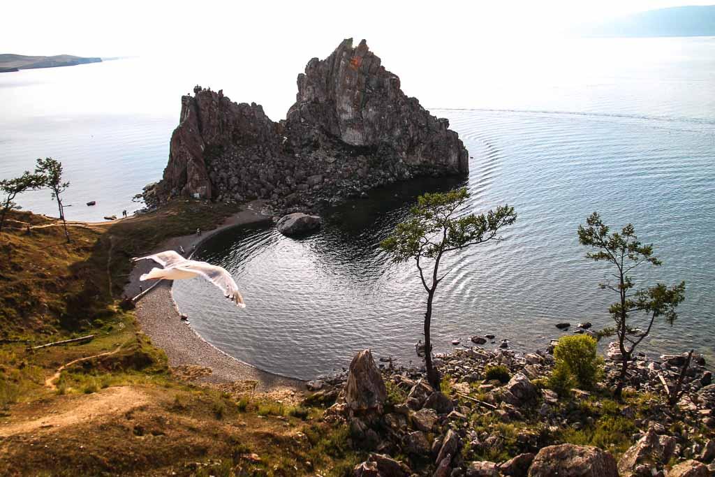 Lago Baikal - Roccia dello Sciamano