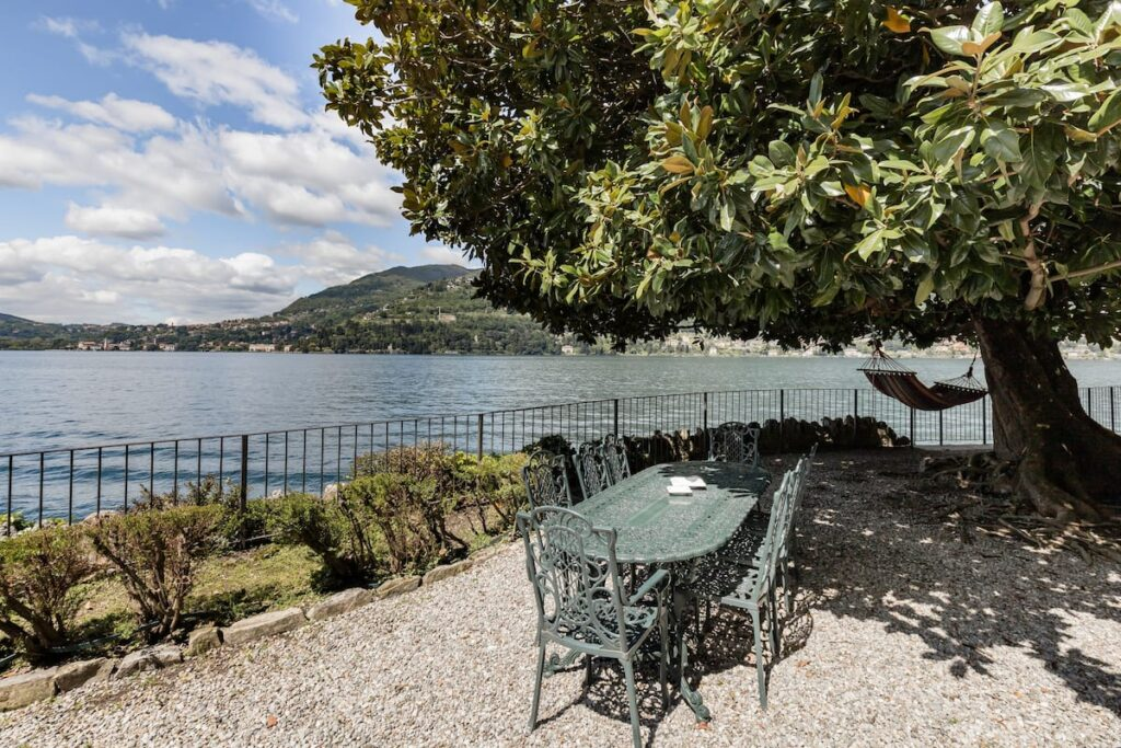 lago di como casa appartamento panoramico villa storica