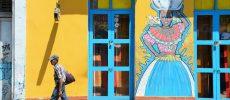Street art in Colombia, vivere a colori