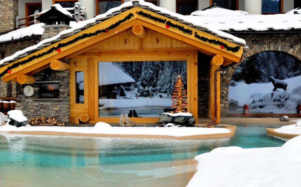 Laghetto balneabile Eco Wellness Hotel Notre Maison