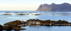 Norvegia: il profondo blu di Hamn I Senja