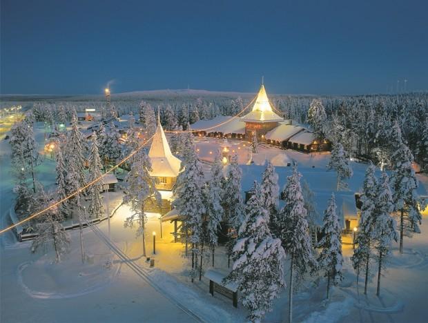 Indirizzo Di Babbo Natale Lapponia.Babbo Natale Esiste Davvero Sta In Finlandia A Rovaniemi