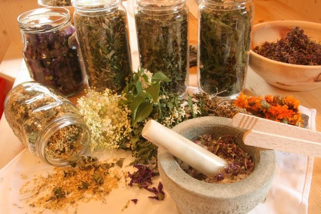 Trattamenti a base di erbe e oli essenziali