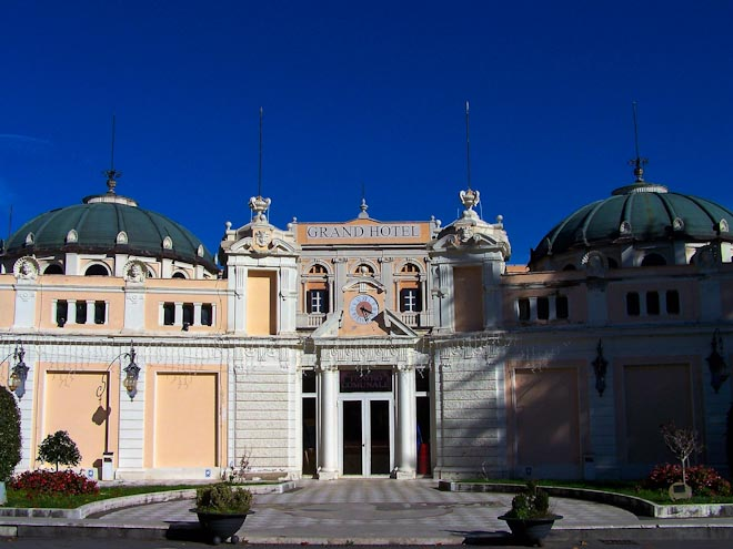 Fiuggi Palazzo della Fonte