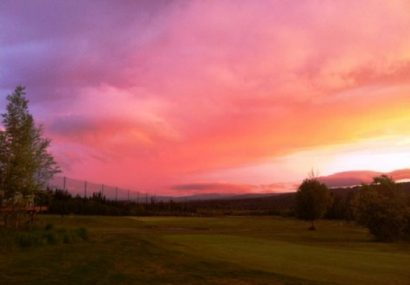 Golf in Alaska. Per chi vuole giocare al fresco
