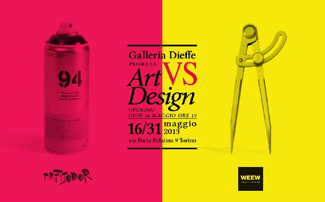 Art Vs Design : Salone off a torino art vs design in mostra