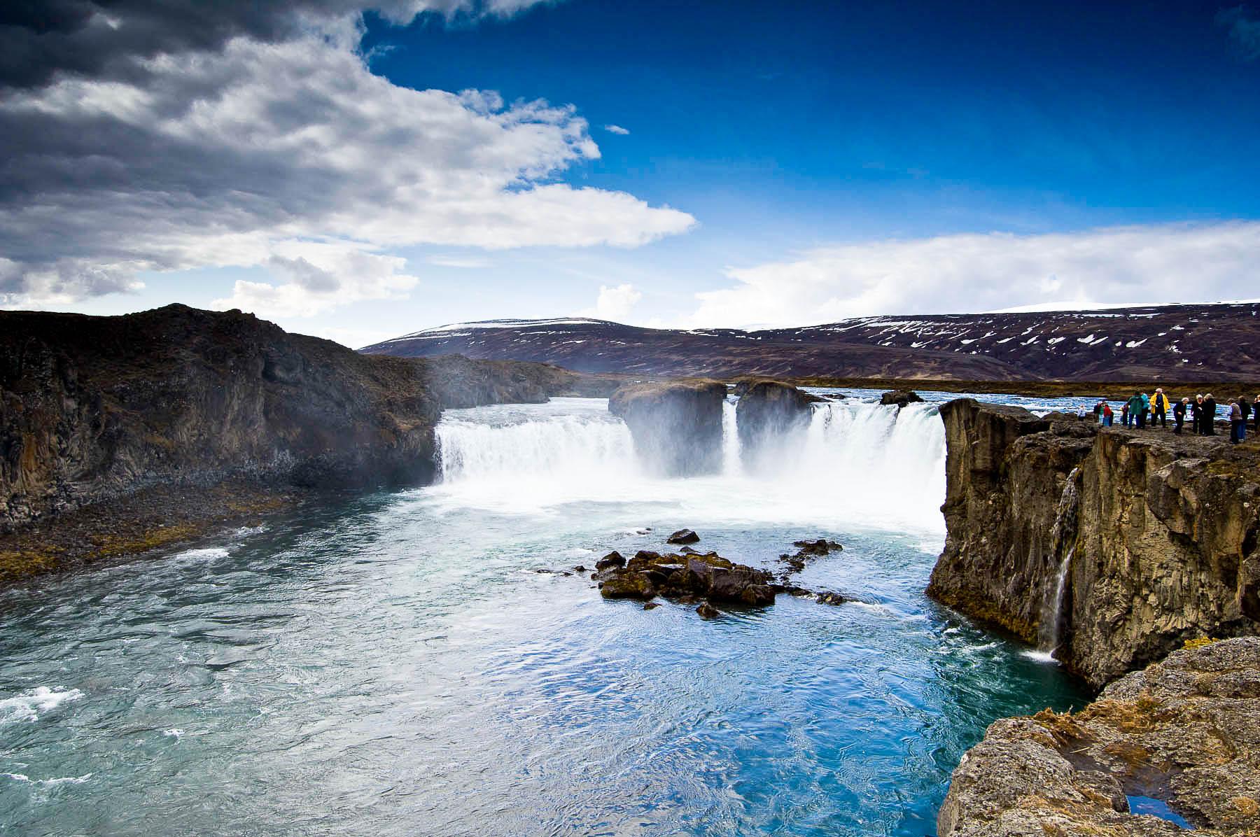 Islanda. Le cascate di Godafoss