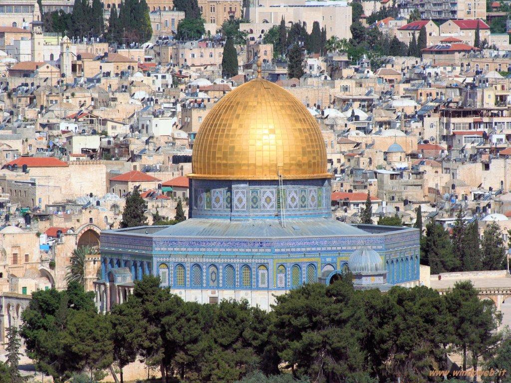 Gerusalemme. La moschea della Roccia
