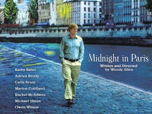 Midnight in Paris film Woody Allen