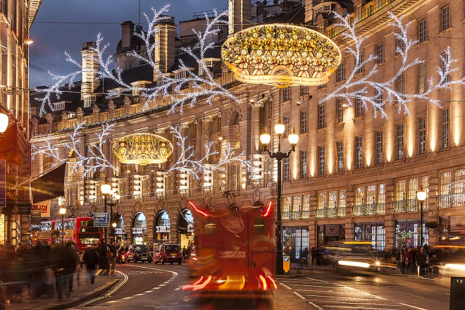 London, UK: Regent street