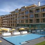 Austria. Kempiski Hotel: architettura moderna nel cuore delle Alpi Tirolesi