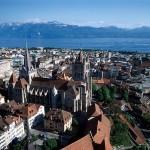 Losanna, Svizzera scintillante