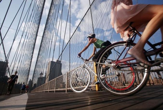 New-York-bicicletta