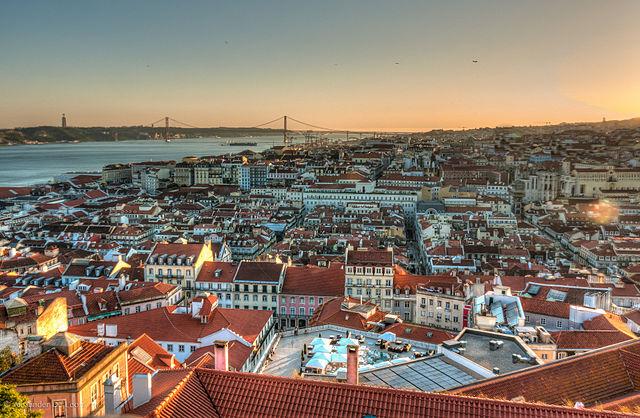 Veduta di Lisbona