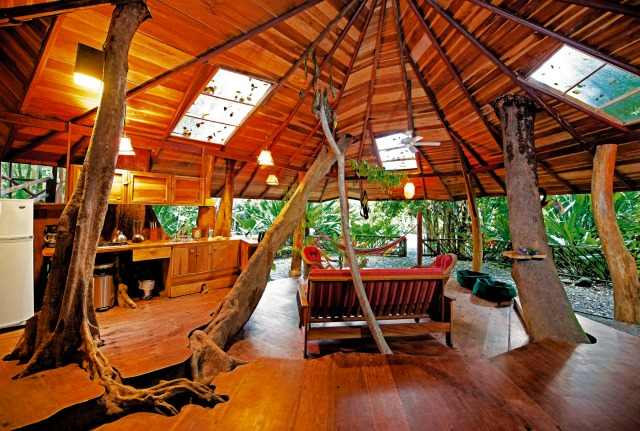 Tree hotel una casa sugli alberi for Tree house costa rica