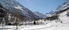 Val di Rhêmes e Cogne la neve della Val d'Aosta