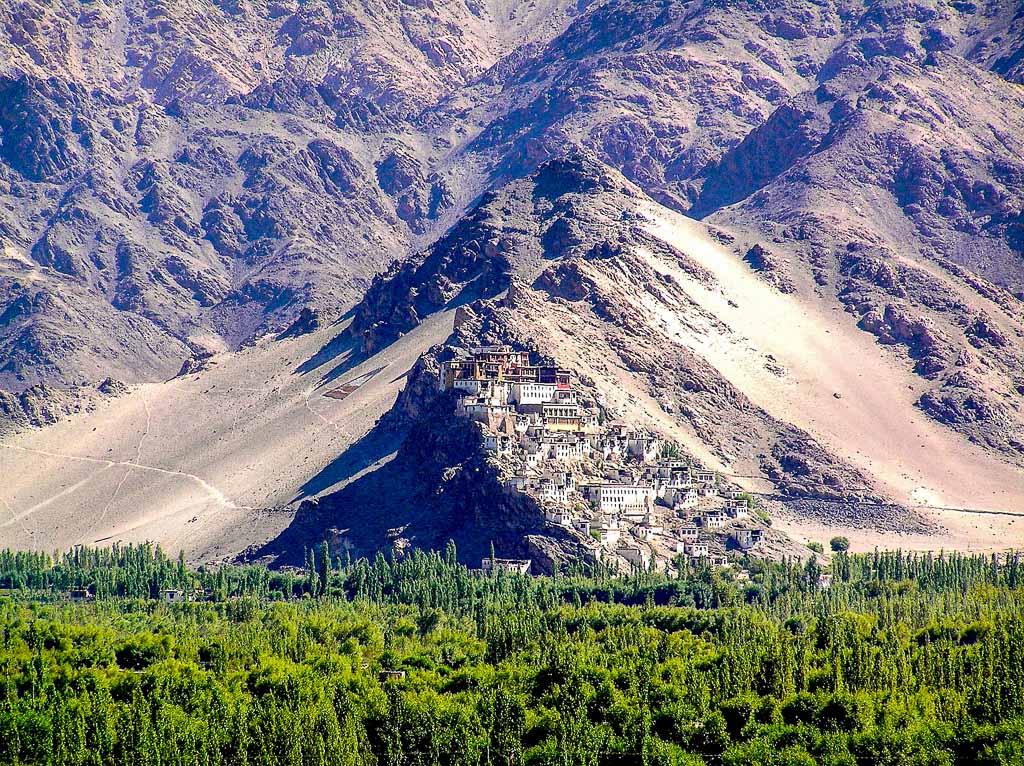 India-Ladakh-Tiksey-Gompa