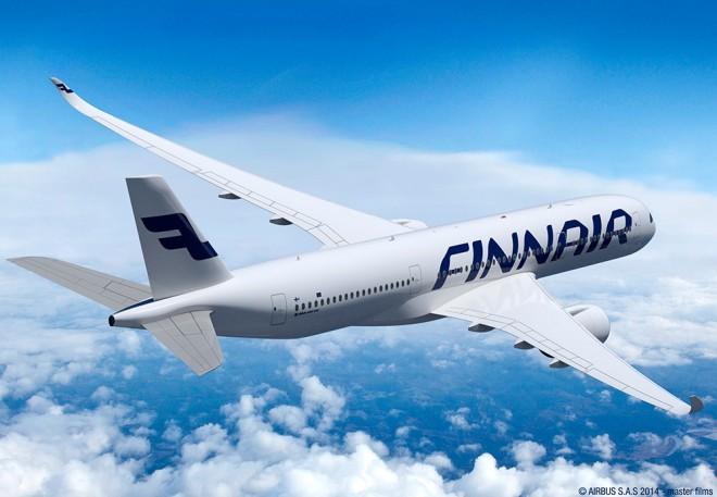 Il nuovo A350 di Finnair