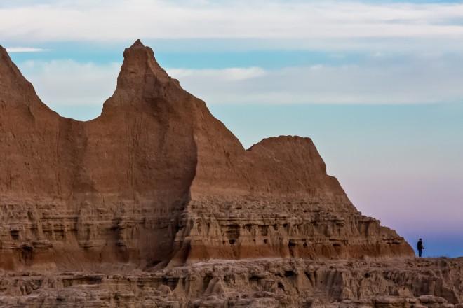 Un momento del Buffalo Roundup in South Dakota che si svolge in settembre  ©photo Anne Convay/Latitudes