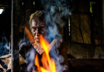 Indonesia, Papua Occidentale. Richiamo primitivo