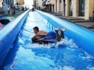 Acqua Speed: scivoli ad acqua rinfrescano le città italiane