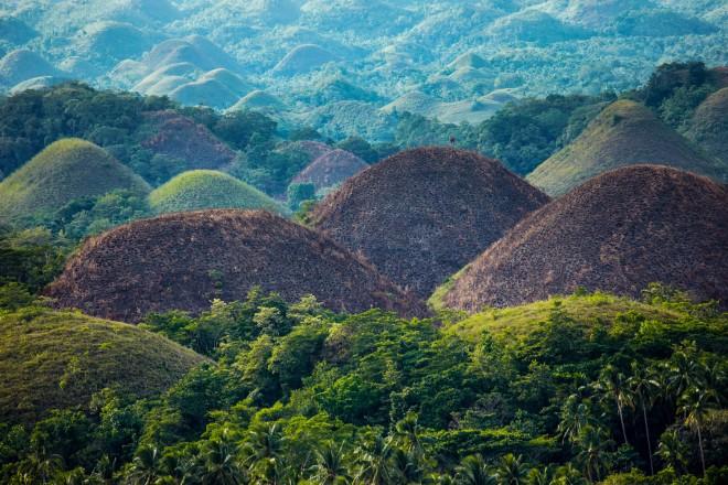 Le Chocolate Hills a Bohol