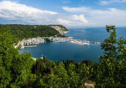 Weekend a Sistiana, deliziosa baia nel  Golfo di Trieste