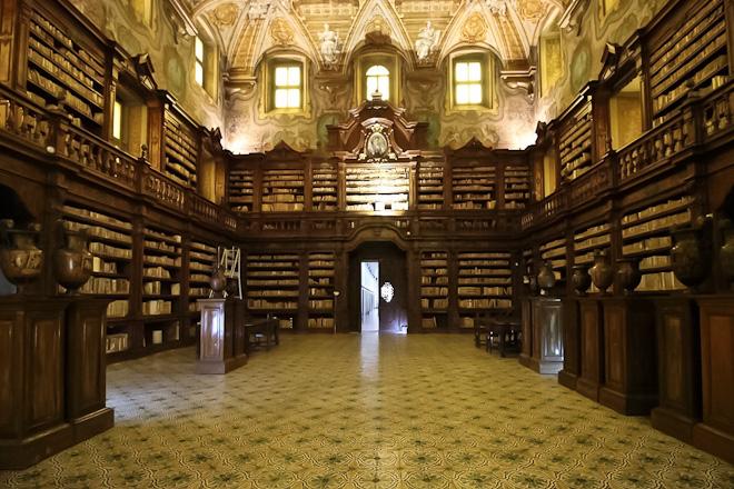 Biblioteca Girolamini Napoli_Giornate FAI di Primavera