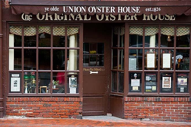 Union Oyster House il ristorante preferito di JFK