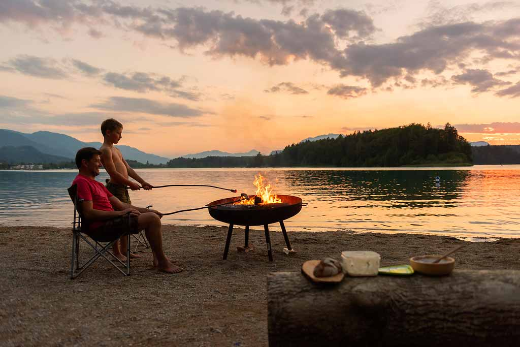 Camping-lago-Villach-Carinzia