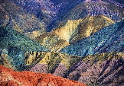 Argentina, le Ande a colori
