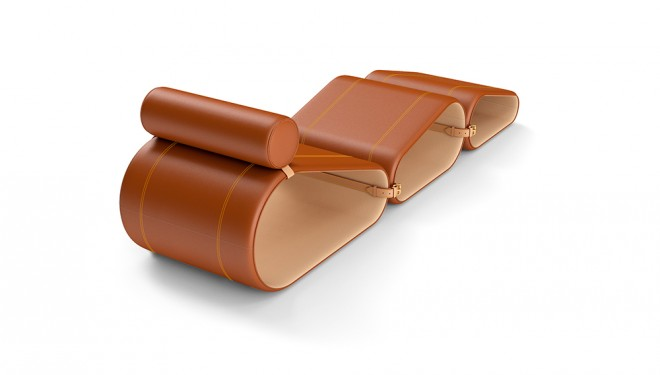 Chaise Longue Louis Vuitton