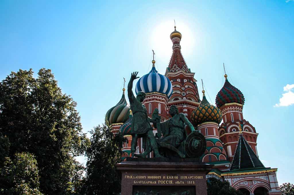 Chiesa di San Basilio, Mosca russia