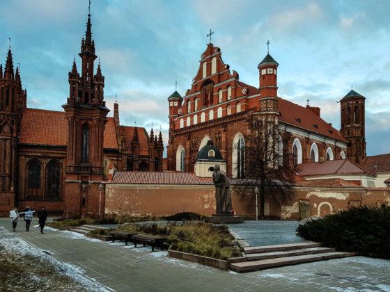 Vilnius Chiesa di Sant'Anna