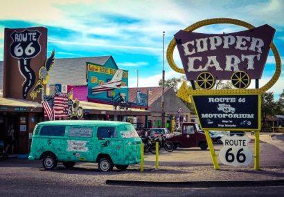 Route 66 ultima tappa. California e Arizona