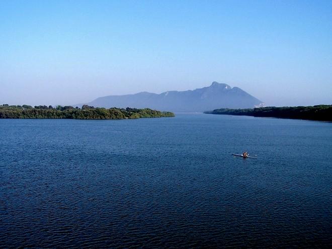 Circeo dal lago di Paola