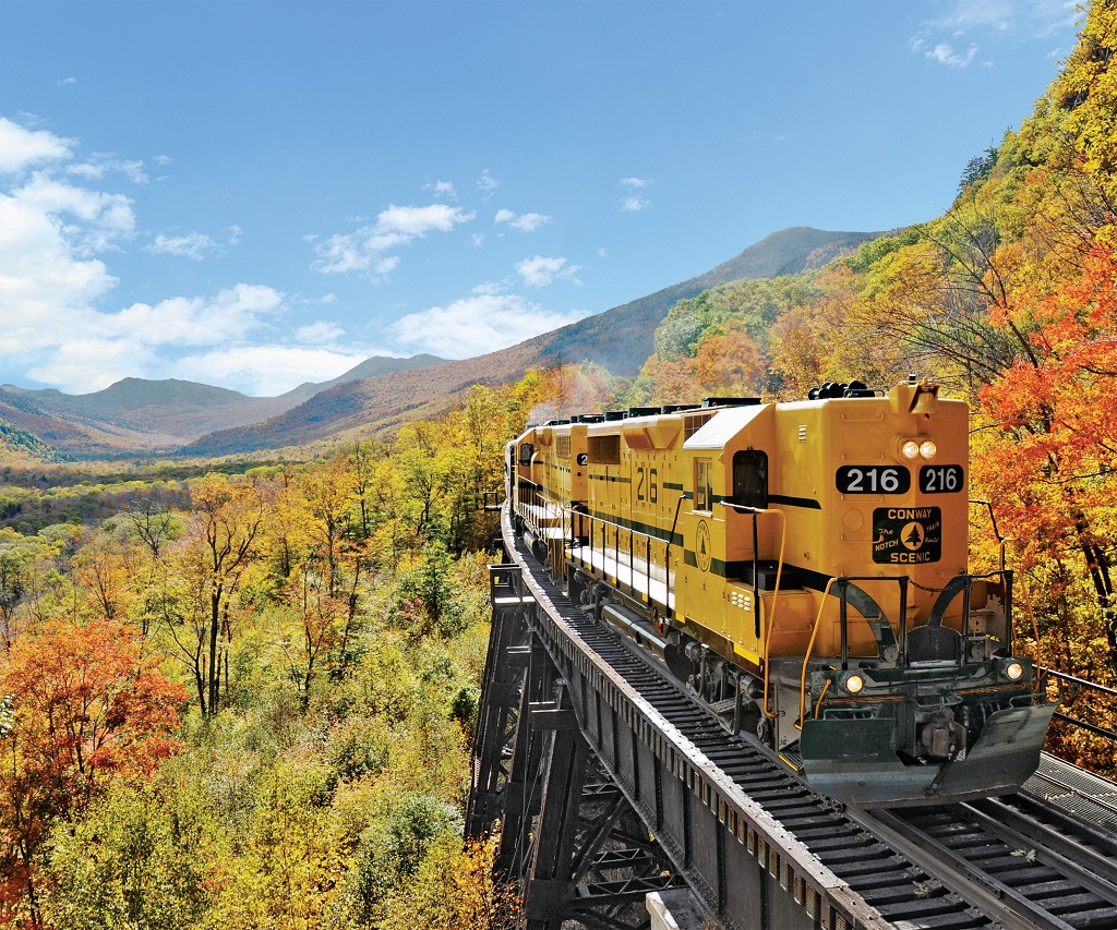 Conway Scenic Railroad, New Hampshire