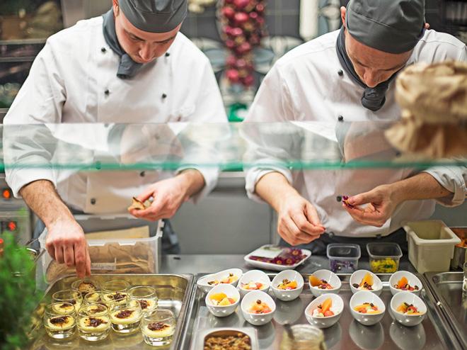 Cucina Hotel Belvedere Locarno
