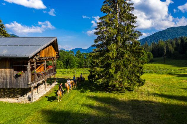 Val di Zoldo-Dolomiti-malga-cavallo-equitazione