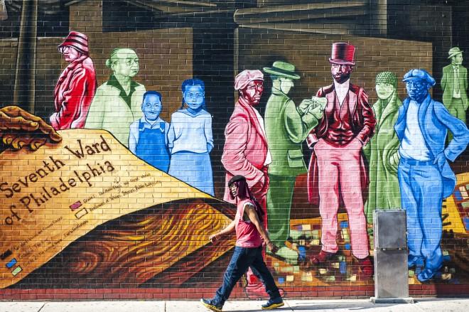 Philadelphia, Pennsylvania, murales. Foto © Lucio Rossi.