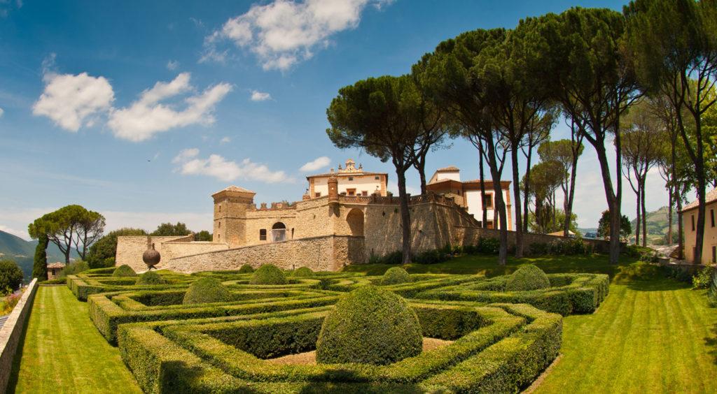 Castello di Solfagnano, Umbria, Italy