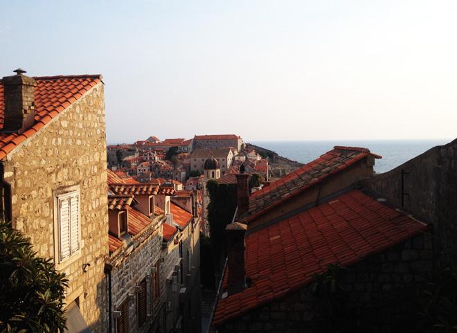 Dubrovnik dall'alto