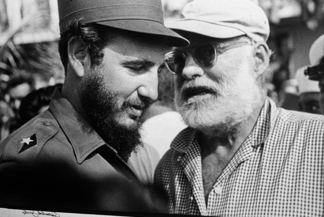 Ernest_Hemingway_Fidel_Castro