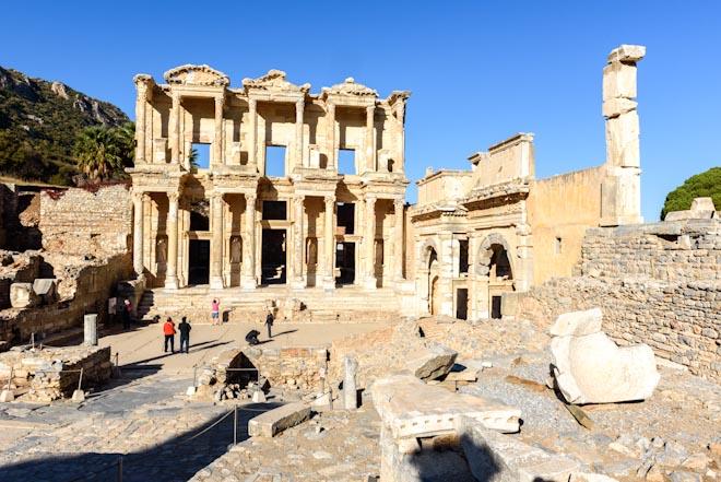 Turchia- Efeso- Biblioteca di Celso